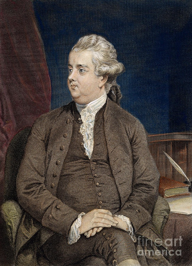 edward gibbon the historian N the second century of the christian era,'' edward gibbon announced, ''the  empire of rome comprehended the fairest part of the earth, and.